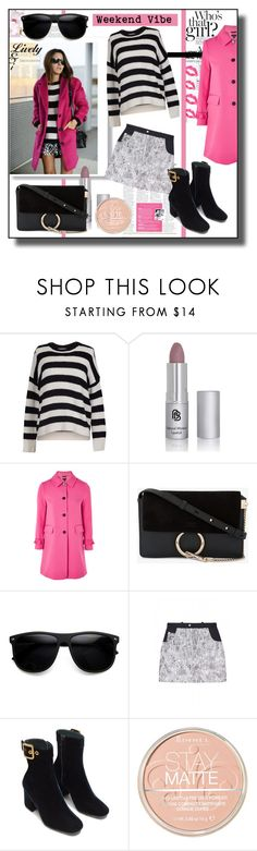 """Weekend Style"" by kelly-floramoon-legg ❤ liked on Polyvore featuring Velvet by Graham & Spencer, Chloé, ZeroUV, Nasir Mazhar, Rimmel and weekend"