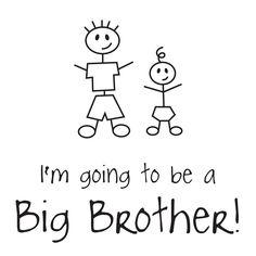 inktastic Big Brother Name Tag Long Sleeve Creeper