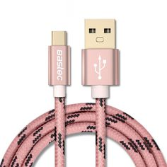 Brand Name: BASTECCompatible Brand: LG,Nokia,HTCType: Type CHas Retail Package: YesName: Bastec USB 2.0 Type-C USB cableColor: Gold / Gray / Rose goldPort: Type