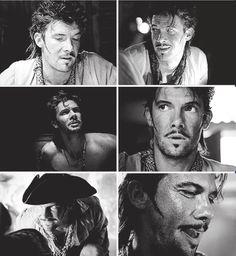 Jack Rackham. Black Sails.
