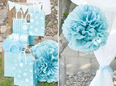 aqua-dandelion-birthday-party-gift-wrap
