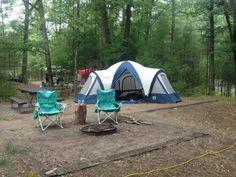 1. Platte River Campground (5685 Lake Michigan Rd, Honor)