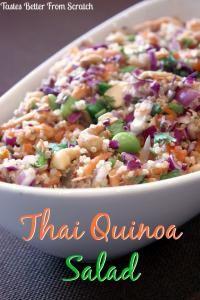 Thai Quinoa Salad on MyRecipeMagic.com