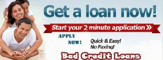 Bad credit loans provide quick cash without any credit check. This loan service is very helpful for those people who suffering from bad credit rating. We can arrange quick cash for your urgent unwanted expenses like medical expenses and unexpected car breakdown etc.  Any person with problems like CCJ's, insolvency, arrears or missed payment history also easily apply for these loans.  So, apply anytime online with us!