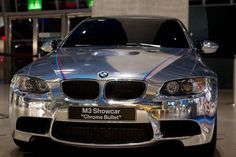 BMW M3 Chrome Bullet Showcar