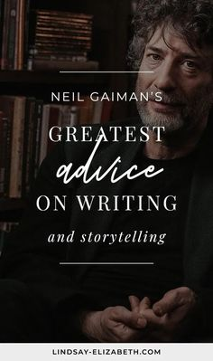 Iconic fantasy author Neil Gaiman shares his best tips on writing and storytelling, covering everything from character development and dialogue to world-building and writer's block. A must-see for any writer, beginner or advanced. Book Writing Tips, Writing Resources, Writing Prompts, Writing Posters, Writing Courses, Plotting A Novel, The Graveyard Book, The Art Of Storytelling, Nonsense Words