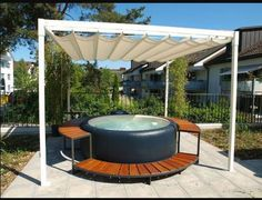 Pools für kleine Gärten … | pool | Pinterest | Gardens, Backyard ...