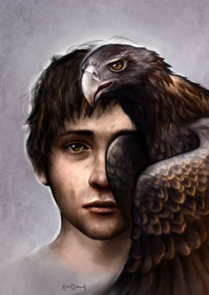 Shaul plus Eagle by KimDingwall.deviantart.com on @deviantART