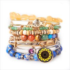 From Alex and Ani - beautiful bracelets that support charity. You can choose a charity and design your own bracelet. All USA made, sourced and created with sustainability in mind. Bracelet Set, Bangle Bracelets, Virtual Gift Cards, Alex And Ani Bangles, Fashion Accessories, Fashion Jewelry, Eco Friendly Fashion, Jewelry Branding, Donation Request