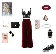 """""""I'm different"""" by valerieyagoda on Polyvore featuring Glamorous, E L L E R Y, Vans, Aspinal of London, Michael Kors, Natasha Accessories, women's clothing, women, female and woman"""