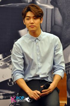 MinHyuk #CSMY press conference for CN Blue's Cant Stop tour in Malaysia #CNBLUEbalikRaya