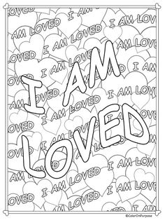 Adult Coloring Pages Printable Core Belief Affirmations Swear Word Coloring Book, Love Coloring Pages, Coloring Pages For Grown Ups, Free Adult Coloring Pages, Coloring Sheets, Coloring Books, Colouring, Core Beliefs, Color Quotes