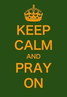 pray on...
