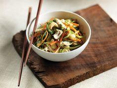 Mango-Zucchini Noodle Salad ‹ Hello Healthy
