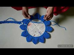 Macrame dising part 2 - YouTube