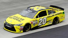 Matt Kenseth will start 1st in the No. 20 Joe Gibbs Racing Toyota.