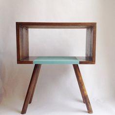 Mid century table Scandinavian Table Retro door VintageHouseCoruna