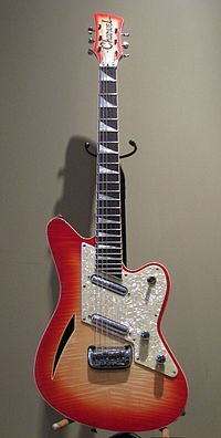 The legendary, enigmatic Charvel Surfcaster.
