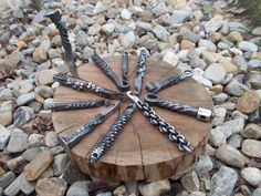 Hand forged bottle openers by studio25