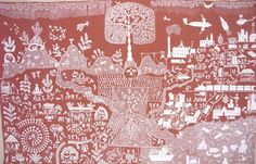 Tribal Addiwashi warli art