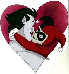Harley and Joker by RiaSal.deviantart.com on @deviantART