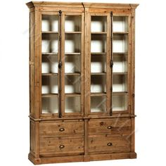 Image result for reclaimed wood bookcase with doors