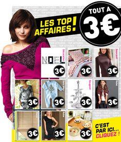 Tout à 3 euros / Novembre 2012 / Excedence.com
