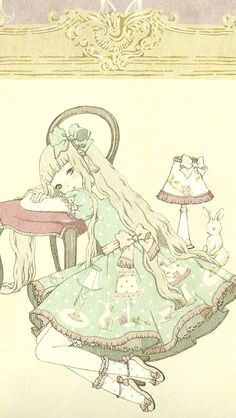 Loli Art~ i love the style of drawing