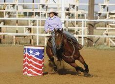 Barrel Racing: Control Your Horse's Speed