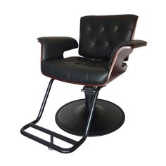 Styling Chair - 31 inches - The Styling chair is a modern take on an iconic American chair: the Eames Lounge Chair. Nail Salon Furniture, Furniture Design, Spa Chair, Desk Chair, Lift Table, Barber Chair, Eames, Icon Design, Beauty Society