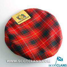Clan MacIver Tartan Cap