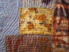natural dyeing andhand stitching Ann Stephens