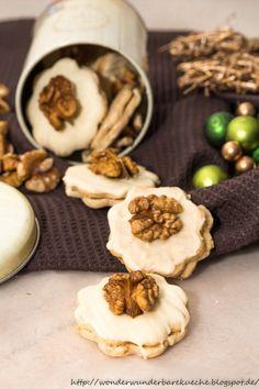 Wonder Wunderbare Küche: Walnussplätzchen mit weißer Schokolade