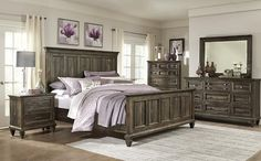 Blaneville 6-Piece Queen Bedroom, Brown | Pinterest