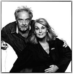 David Bailey and Jean Shrimpton by David Bailey