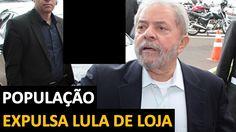 Lula quis entrar em LOJA mas foi impedido por admiradores  de João Doria