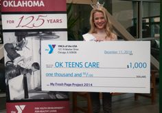 Congrats to the 3 MY FRESH PAGE project winners from OKLAHOMA!  #TheY https://www.facebook.com/notes/ymca-of-greater-oklahoma-city/ymca-presents-checks-to-local-contest-winners/818811401509599