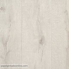 Faux wide white washed wood planks wallpaper ll29501 - Parquet blanco envejecido ...