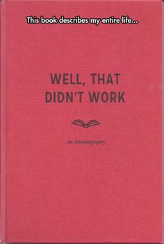 A Book I Can Relate To