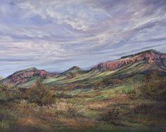 A Chorus of Rain Clouds, pastel landscape from the Davis Mountains Pastel Landscape, Landscape Paintings, Affordable Wall Art, Rain Clouds, Southwest Art, Le Far West, Friends In Love, Online Art, Sky