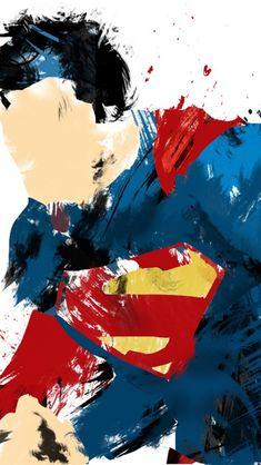 Superman Man of Steel Painted Wallpaper. Simple, but epic digital painting of Superman, the man of steel. Artwork Superman, Wallpaper Do Superman, Arte Do Superman, Superman Quotes, Batman Vs Superman, Superman Drawing, Black Superman, Comic Kunst, Comic Art