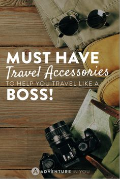 Travel Accessories | Here's our top list of gadgets and travel accessories we can't live without