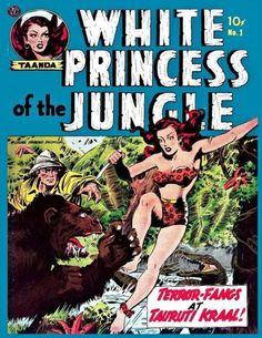 White Princess of the Jungle #1