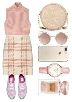 """pink is always the best color"" by claireberenai ❤ liked on Polyvore featuring Diesel Black Gold, MARC CAIN, Vans, Neiman Marcus, MANGO, Topshop and Giorgio Armani"