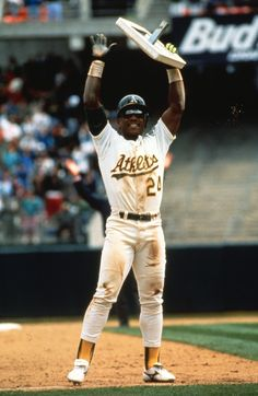 Ricky Henderson....one of my favorite baseball players