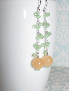 Soft Melody Long and Strong Earrings CE-ss-001 by AStyleEveryday