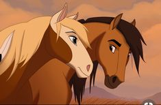 A lot of love for Spirit right now. Like, that film is stunning. I don't wanna look at this too much in case I spot a mistake. Spirit and Rain Spirit Horse Movie, Spirit The Horse, Spirit And Rain, Spirit Film, Dreamworks Animation, Disney And Dreamworks, Horse Drawings, Animal Drawings, Spirit Drawing