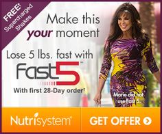 Eat Delicious Food On The Nutrisystem Diet and You Too Can Lose Weight! #nutrisystem