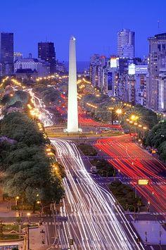 9 julio ave. buenos aires, argentina