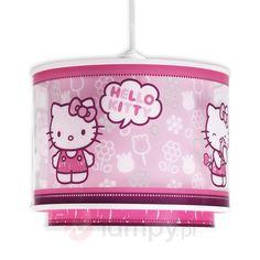 Hello Kitty - śliczna dziecięca lampa wisząca 2507336